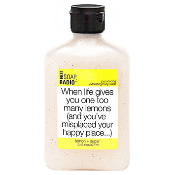 Not Soap Radio Not Soap, Radio Body Scrub Lemon 397ml