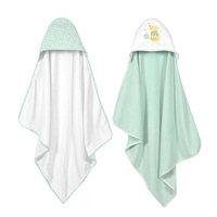 Disney Baby Winnie-the-Pooh 2 Pack Hooded Towel Set