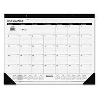 At-A-Glance® 2017 Monthly Desk Pad (SK24 17) - Standard Desk Pad