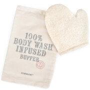Spongelle Spongology Body Wash Infused Anti-Cellulite Glove - Milk & Honey