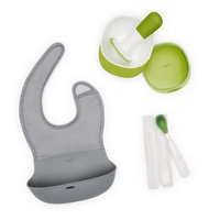 OXO Tot® Mealtime On-the-Go Set in Green/Grey
