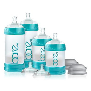 Bittylab Bare Air-free Starter Set Baby Bottle with Easy-latch Nipple