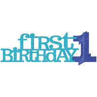 1st Birthday Blue 14