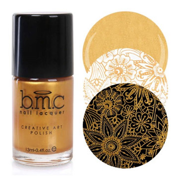 BMC 2nd Gen Nail Art Stamping Polish - Essentials: Primary, Heart of Gold