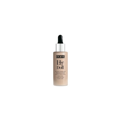 PUPA Like A Doll Perfecting Make-Up Fluid Nude Look Foundation - Porcelain