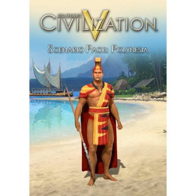 2k Sid Meier's Civilization V Scenario Pack: Polynesia (PC) (Digital Download)