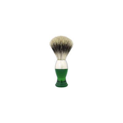 eShave Finest Badger Nickel Short - Green