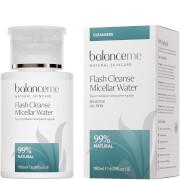 Balance Me Flash Cleanse Micellar Water, 180ml