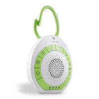 HoMedics® MyBaby On-the-Go SoundSpa in White/Green