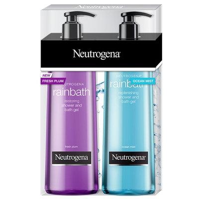 Neutrogena Rainbath Replenishing Shower Gel, Fresh Plum & Ocean Mist (32 fl. oz, 2 pk.)