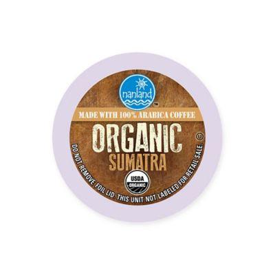 Nanland Organic 42-Count Sumatran Origin Single Serve Coffee