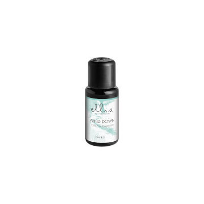 Ellia Aromatherapy Essential Oil Mix for Aroma Diffusers - Wind Down 15ml