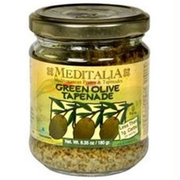 Meditalia B33335 Meditalia Green Olive Tapenade -6x6. 35oz