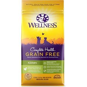 Wellness Complete Health™Grain Free Kitten Kitten: Deboned Chicken & Chicken Meal Dry Kitten Food