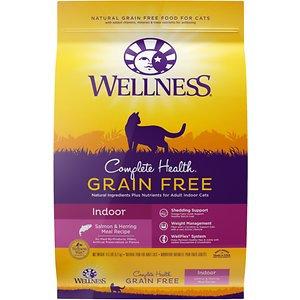 Wellness Complete Health™ Grain Free Indoor Indoor: Salmon & Herring Dry Cat Food