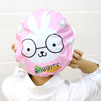 Elastic waterproof cap, 10 bags of ladies shower plastic cap