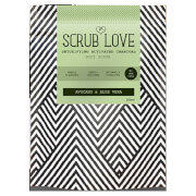 Scrub Love Active Charcoal Scrub Avocado & Aloe Vera 200g