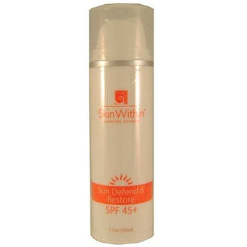 SkinWithin Sun Defend & Restore SPF 45+ 1.7oz by SKINWITHIN