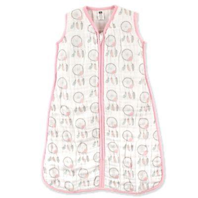 Hudson Baby® Size 18-24M Dream Catcher Muslin Sleeping Bag in Pink