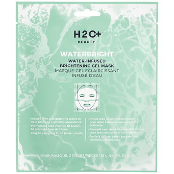 H2O Plus Waterbright Water-Infused Brightening Gel Mask 1 Mask / 2 Pieces