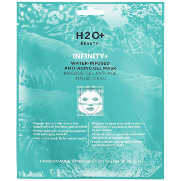 H2o+ Beauty H2O Plus Infinity+ Water-Infused Anti-Aging Gel Mask 1 Mask / 2 Pieces