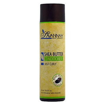 Savannah Hair Therapy Shea Butter Conditioner for Curly 8.45oz / 250ml