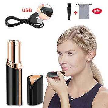 Haphome Epilator Facial Hair Removal for Women, Face Shavers Hair Remover with Rechargeable Battery, Women's Painless Hair Remover, Perfect for Face...