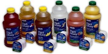 Thick & Easy Thickened Beverage 48 oz. Bottle Kiwi Strawberry Ready to Use Nectar CS/6 PK/8