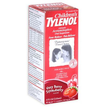 Tylenol® 4 oz. Childrens Oral Suspension in Very Berry