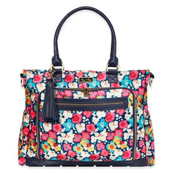 Itzy Ritzy® Diaper Bag Tote in Pink Posy