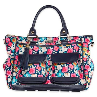 Itzy Ritzy® Posy Pop Convertible Diaper Bag in Pink