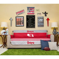 University of Nebraska Sofa Cover