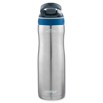 Contigo 20 oz. Ashland Chill Autospout Stainless Steel Water Bottle - Monaco