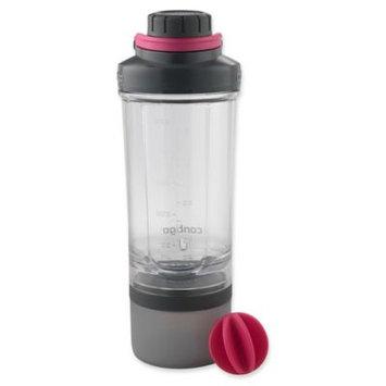 Ignite Usa Llc Contigo 22 oz. Shake & Go Fit Bottle and Storage Container - Clear/Wildberry