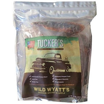 Tucker S Bones Blue Sky Bone Tuckers Bones Blue Sky Bone BS55963 Wyatts Chicken & Apple Treat - 1 lbs.