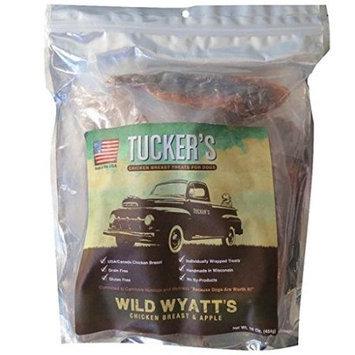 Tucker S Bones Blue Sky Bone Tuckers Bones Blue Sky Bone BS55963 Wyatts Chicken & Apple Treat - 1 lbs.