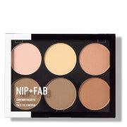 NIP+FAB Make Up Contour Palette - Light