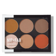 NIP+FAB Make Up Contour Palette - Dark