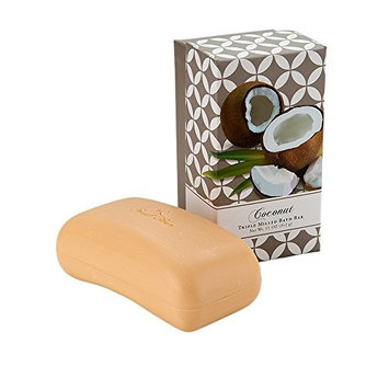 Bar Soap by CST Commonwealth Soap Toiletries Triple Milled Moisturizing Coconut Bath Cleanser 11 Ounce