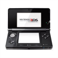 Nintendo 3DS Cosmo Black Portable Gaming System