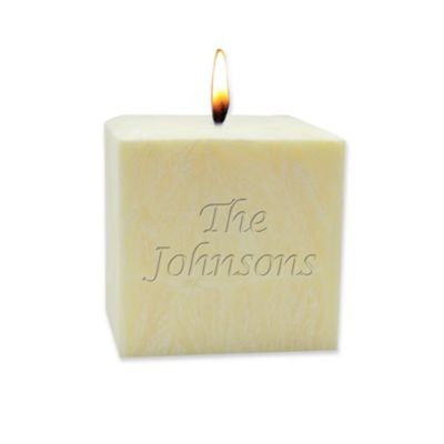 Carved Solutions Eco-Luxury Pure Aromatherapy 3-Inch Pillar Candle