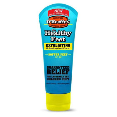 O'Keeffe's For Healthy Feet Exfoliating Moisturizing Foot Cream - 3 oz, Pack of 2