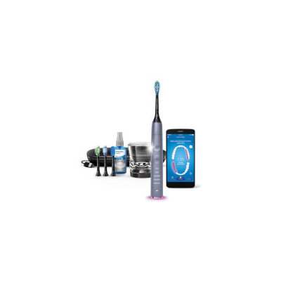 Philips HX9924/44 DiamondClean Smart Sonic Electric Toothbrush with App, Silver