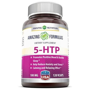 Amazing Nutrition 5-htp 100 Mg 120 Vcaps