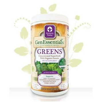 Genesis Today Vegan Greens with 75 superfoods and 25 billion probiotics, 29 servings