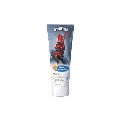 Pure Sun Defense Sunscreen Lotion, Spiderman