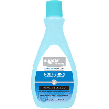 Equate Nourishing Nail Polish Remover, 6 Oz