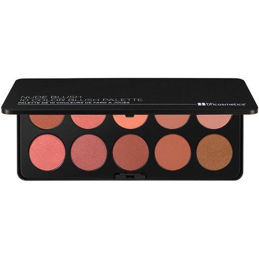 BH Cosmetics Nude Blush - 10 Color Blush Palette
