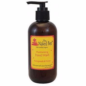 Naked Bee Hand Wash 8 Oz. - Pomegranate & Honey