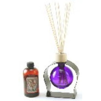 VIOLET 8.5 Ounce Ball Reed Diffuser - 8 Ounces of Fragrance - Courtneys Candles - BABY POWDER